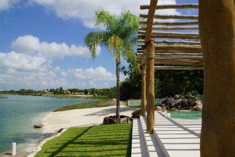 花园地砖地中海风格装修效果图