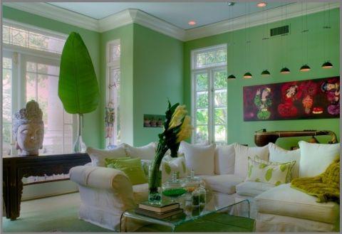 客厅地中海风格装饰图片