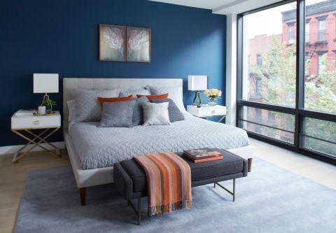 卧室现代风格效果图大全2017图片_土拨鼠温馨自然卧室现代风格装修设计效果图欣赏