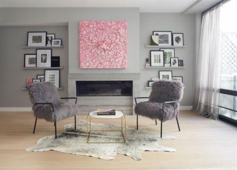 卧室照片墙现代风格效果图