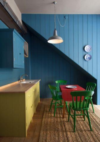 餐厅混搭风格效果图大全2017图片_土拨鼠潮流质朴餐厅混搭风格装修设计效果图欣赏