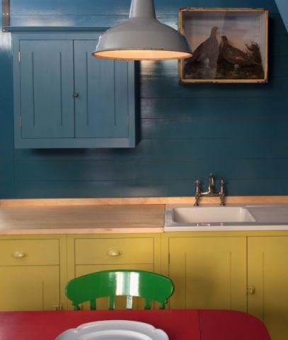 厨房隔断混搭风格装潢设计图片