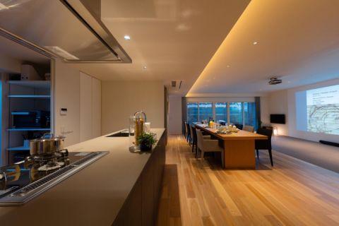 2018现代110平米装修设计 2018现代四居室装修图