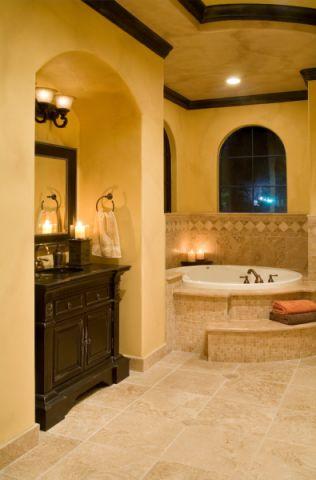 浴室吊顶地中海风格效果图