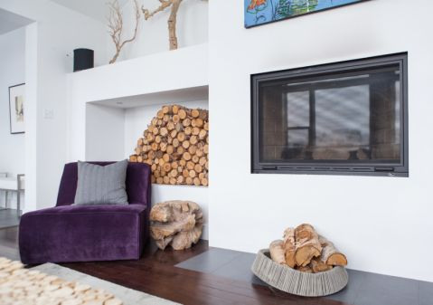客厅地板砖现代风格装潢设计图片