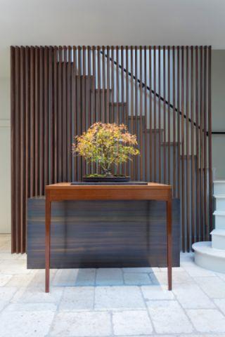 玄关地板砖美式风格装潢效果图