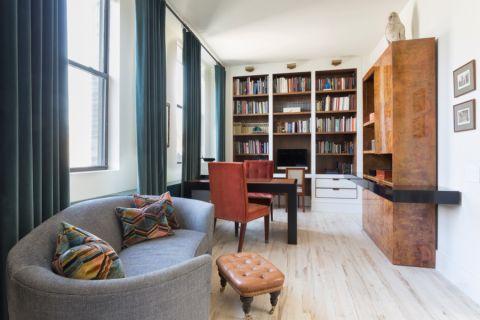 书房美式风格装潢图片