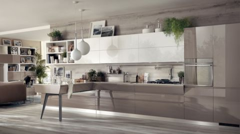 厨房灯具现代风格装饰设计图片