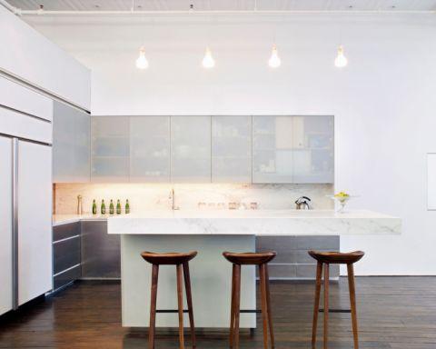 厨房吧台现代风格装饰效果图