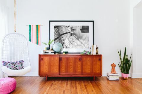 客厅细节混搭风格装修设计图片
