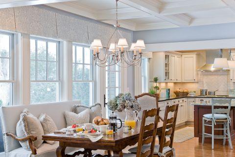 厨房美式风格效果图大全2017图片_土拨鼠浪漫创意厨房美式风格装修设计效果图欣赏