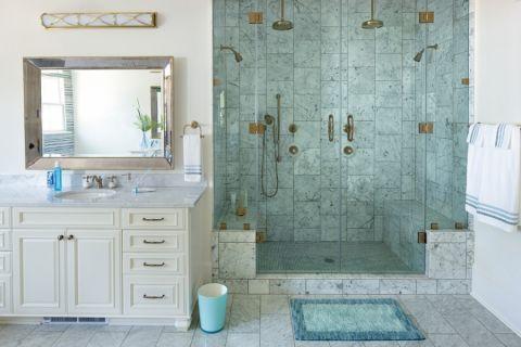 浴室美式风格装修效果图