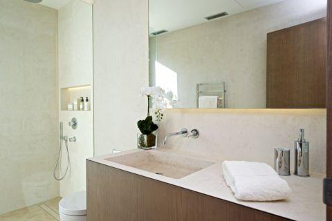 浴室地中海风格装饰图片