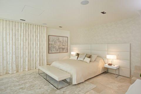 卧室地中海风格装潢设计图片