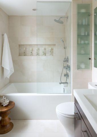 浴室现代风格效果图大全2017图片_土拨鼠大气富丽浴室现代风格装修设计效果图欣赏