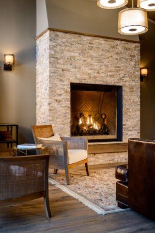 客厅灰色背景墙现代风格效果图
