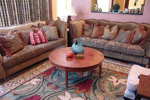 客厅茶几混搭风格装饰效果图