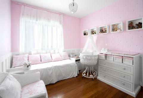 儿童房窗帘现代风格装饰设计图片