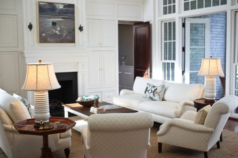 客厅沙发混搭风格效果图