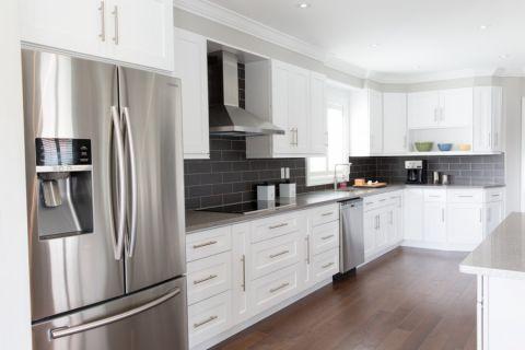 厨房背景墙现代风格装修设计图片