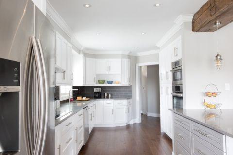 厨房现代风格效果图大全2017图片_土拨鼠清新个性厨房现代风格装修设计效果图欣赏