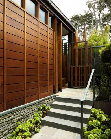 外景走廊现代风格效果图