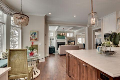 厨房地板砖美式风格装修图片