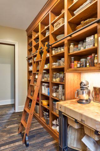 厨房地板砖美式风格装修设计图片