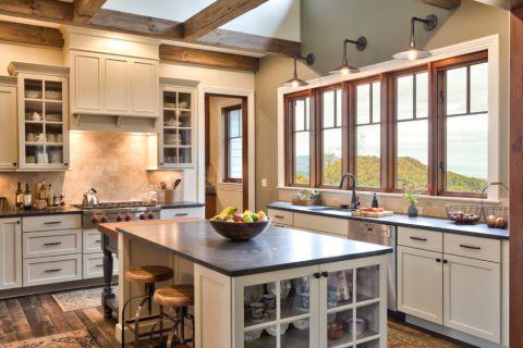 厨房窗台美式风格效果图