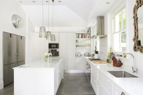 厨房背景墙现代风格装修图片