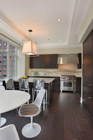 厨房地板砖混搭风格装潢设计图片