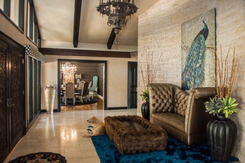 玄关地板砖美式风格装饰设计图片