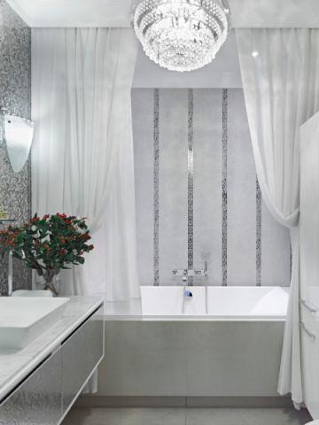浴室灯具美式风格装饰图片