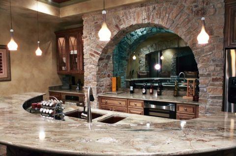 厨房细节地中海风格装饰效果图