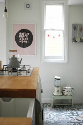 厨房窗台混搭风格装饰图片