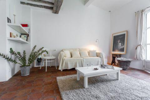 客厅细节地中海风格装潢效果图