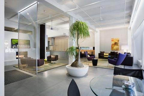 客厅现代风格效果图大全2017图片_土拨鼠潮流创意客厅现代风格装修设计效果图欣赏
