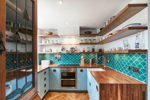 厨房细节混搭风格效果图
