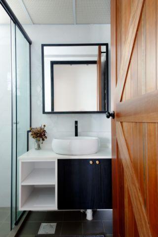 浴室北欧风格装潢效果图