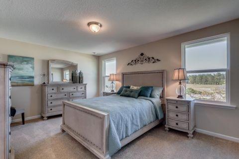 卧室吊顶美式风格装修效果图