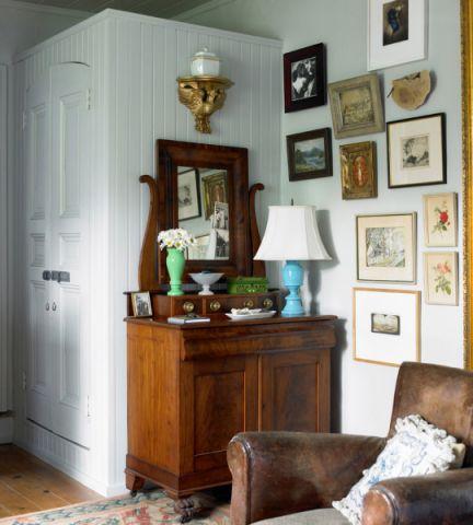 卧室照片墙混搭风格装修效果图
