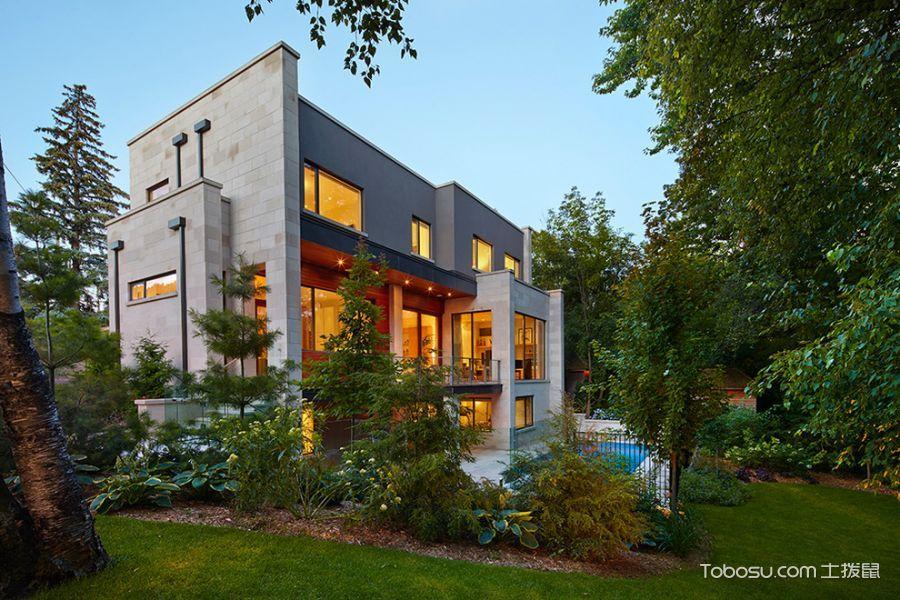现代图片外墙装潢设计外景多别墅钱厦门小图片