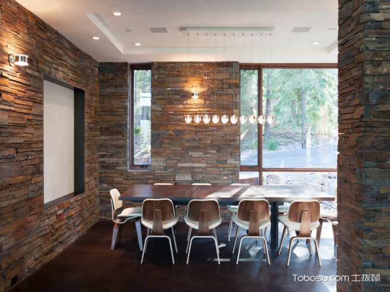餐厅现代风格效果图大全2017图片_土拨鼠豪华清新餐厅现代风格装修设计效果图欣赏