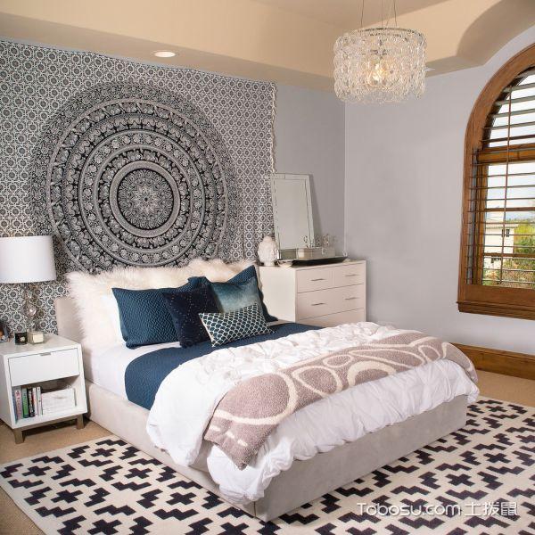 三居室92平米现代风格装修图片