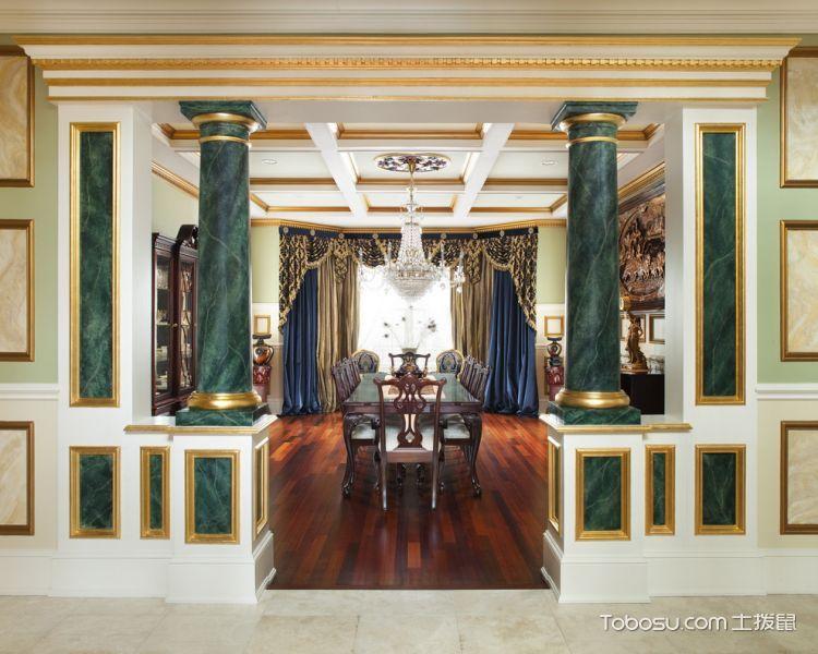 客厅美式风格效果图大全2017图片_土拨鼠个性奢华客厅美式风格装修设计效果图欣赏