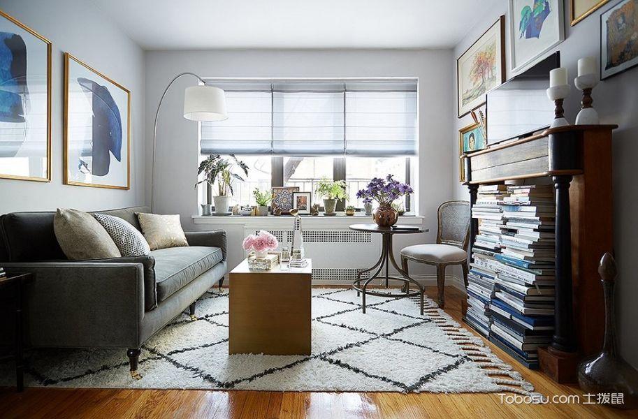 客厅飘窗混搭风格装饰效果图