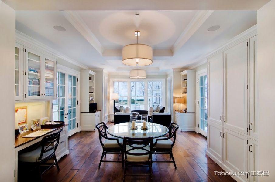 客厅美式风格效果图大全2017图片_土拨鼠唯美质朴客厅美式风格装修设计效果图欣赏