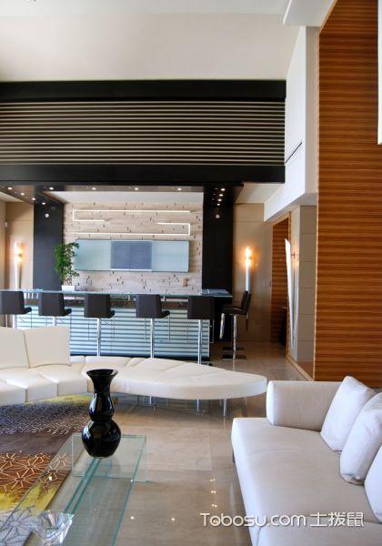 客厅现代风格效果图大全2017图片_土拨鼠大气休闲客厅现代风格装修设计效果图欣赏