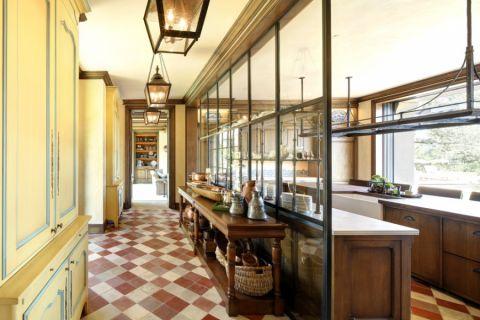 厨房窗台地中海风格装饰效果图