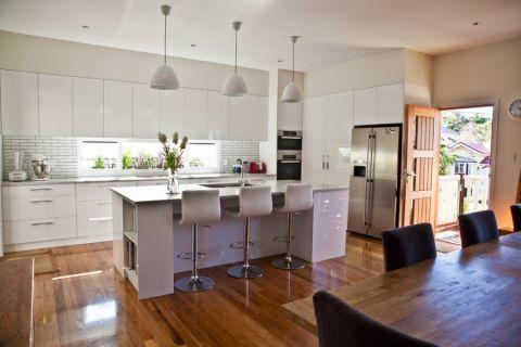 厨房现代风格效果图大全2017图片_土拨鼠奢华优雅厨房现代风格装修设计效果图欣赏